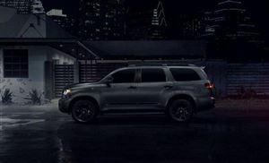 """普拉多""""亲大哥""""5.7L V8+6AT 全尺寸SUV 黑外观太酷"""