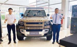 全新路虎卫士110车型临沂力虎捷豹路虎4S中心正式上市