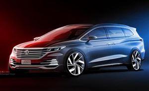 豪华商务MPV 上汽大众Viloran将于广州车展首发